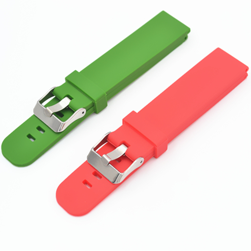 Watch Sport Durable Silicone Watchbands 18 / 20 / 22 mm For Strap for  Men's