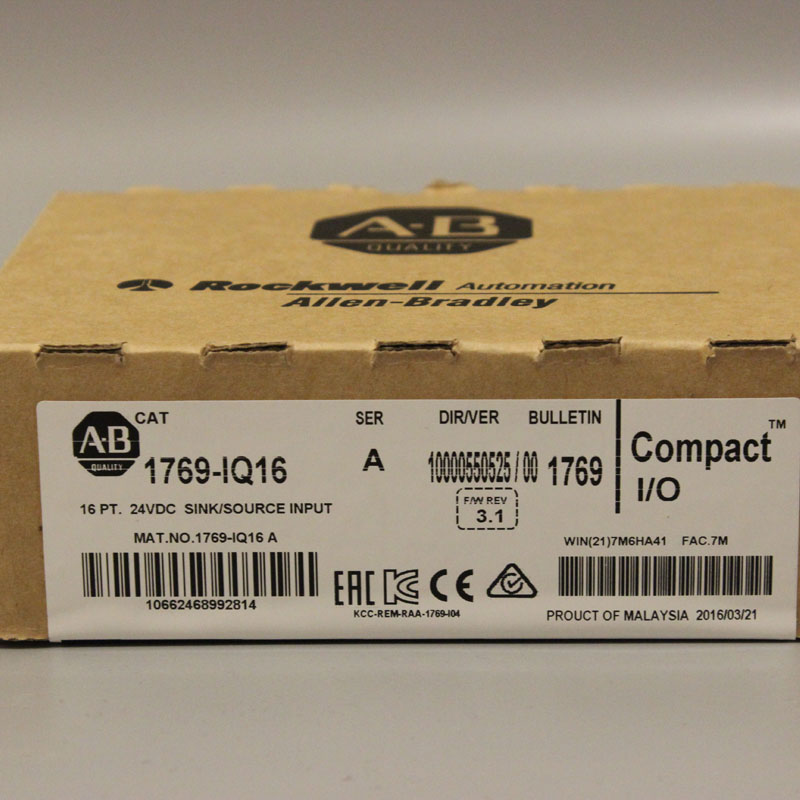 1769 IQ16 1769IQ16 Allen Bradley NEW AND ORIGINAL FACTORY SEALED HAVE IN STOCK