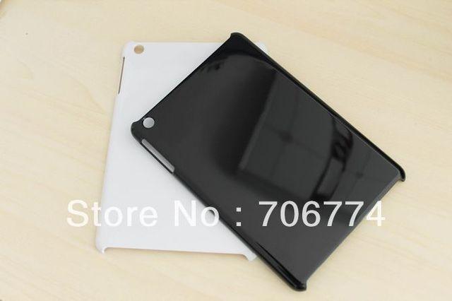 Hot Sale 200pcs/lot Slim Black Plastic Hard Protective Case Cover Skin for Apple iPad Mini Free Shipping