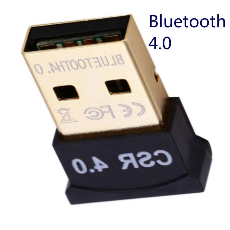 Bluetooth Adapter V4.0 CSR Wireless Mini USB Bluetooth Dongle 4.0 Transmitter for Computer PC Win XP Vista7/ 8/10 2