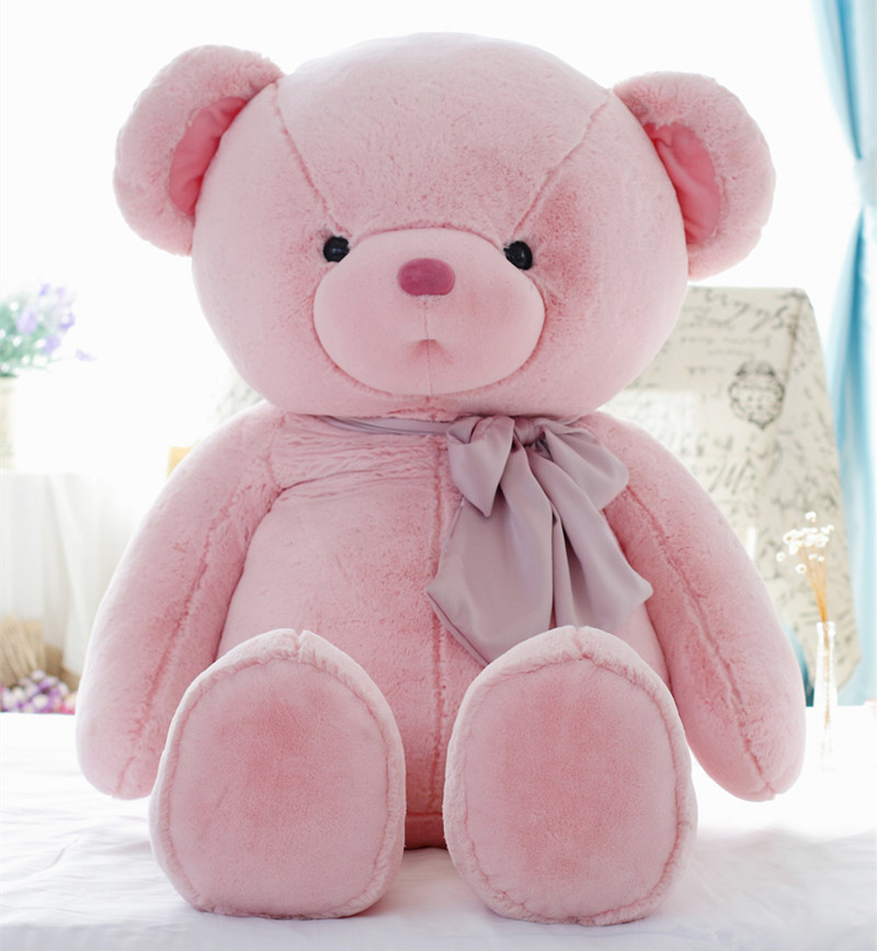 55cm Cute baby bear plush toy doll large teddy bear girl doll super soft big huge gift for girls cheap 340cm huge giant stuffed teddy bear big large huge brown plush soft toy kid children doll girl birthday christmas gift