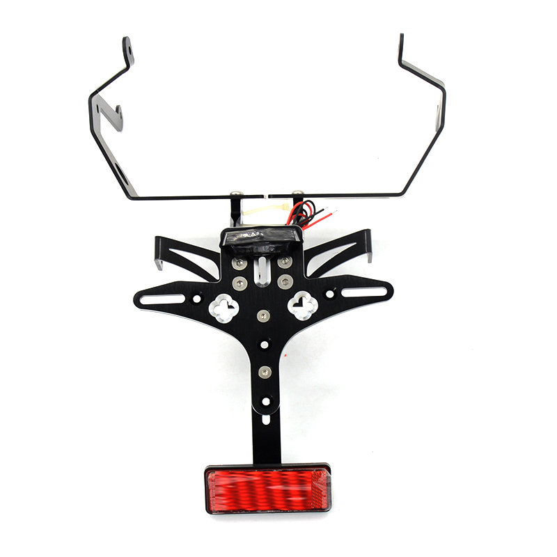Motorcycle CNC Aluminum Adjustable License Plate Holder Bracket Support For Honda CBR CBR600RR F5 2007 2008 2009 2010 2011 2012Motorcycle CNC Aluminum Adjustable License Plate Holder Bracket Support For Honda CBR CBR600RR F5 2007 2008 2009 2010 2011 2012