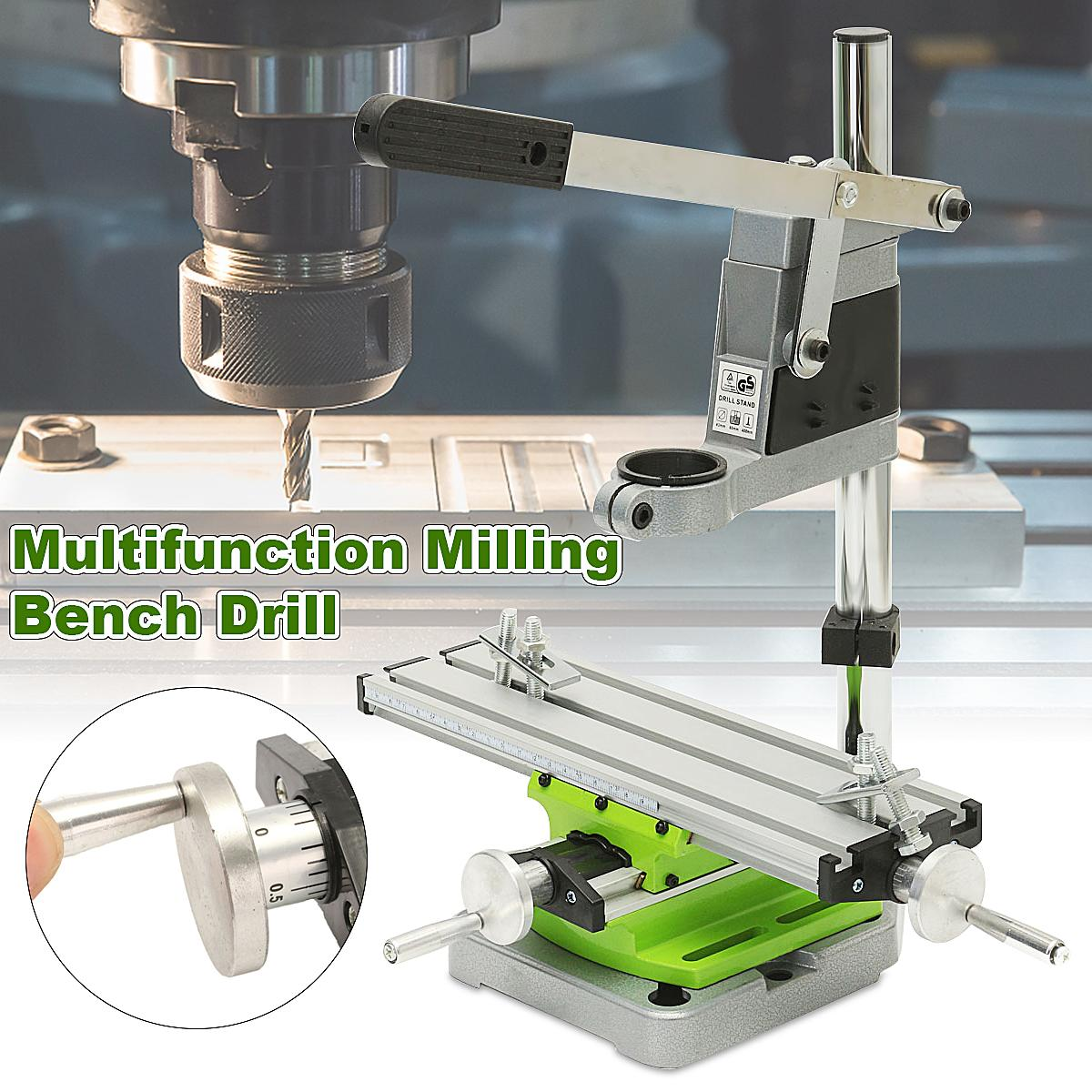 Multifunction Milling Machine Miniature High Precision Bench drill Vise Fixture worktable X Y-axis adjustment Coordinate Table salter air fryer home high capacity multifunction no smoke chicken wings fries machine intelligent electric fryer