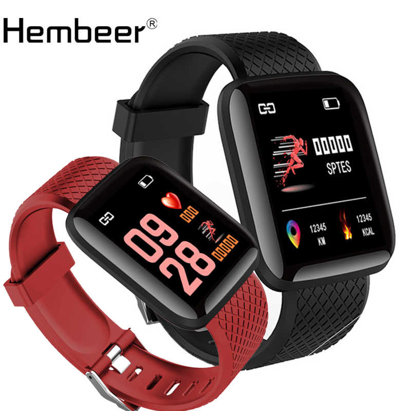 Hembeer Smart Watch Women Men Kids Children Heart Rate Monitor Blood Pressure Watches for lenovo xiaomi huawei iphone phone