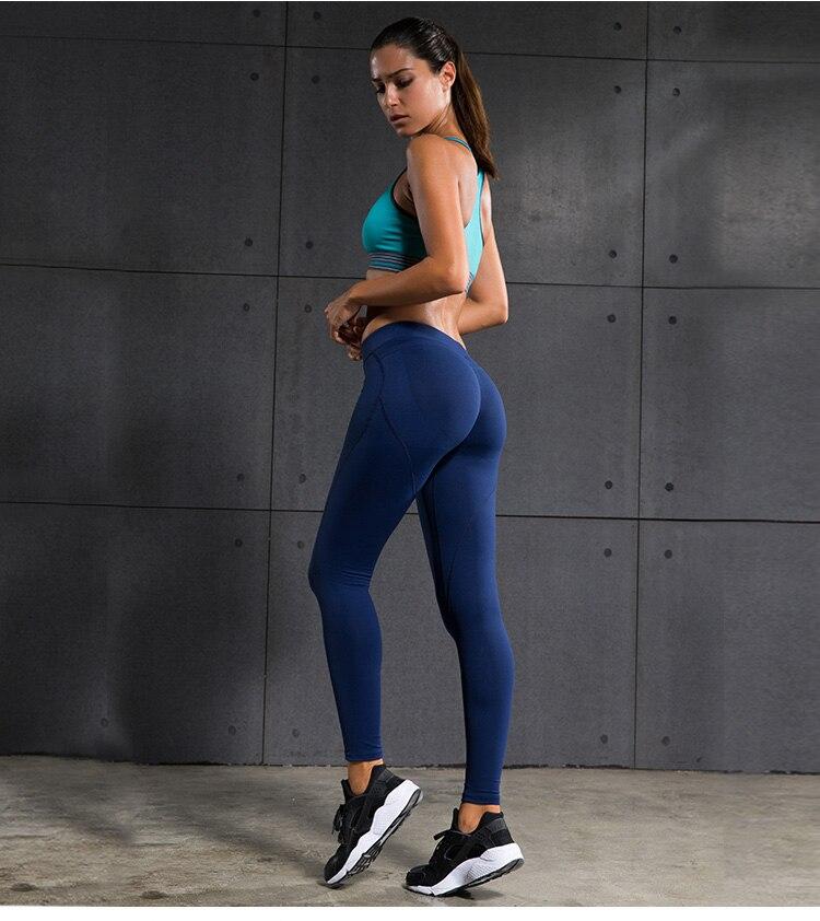 5c006b6a187ab Push Up Gym Slim Compression Exercise Pants Yoga Leggings