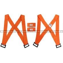 ZXS (2 шт. = 1 пар) Предплечье Погрузчики Подъемные Перемещение Ремень Транспорт Пояса Браслеты Мебель и обратно ремни Мебель