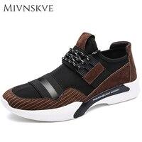 MIVNSKVE 2017 New Style Casual Shoes Men Footwear Classic Shoes Men Flats Breathable Comfort Men S