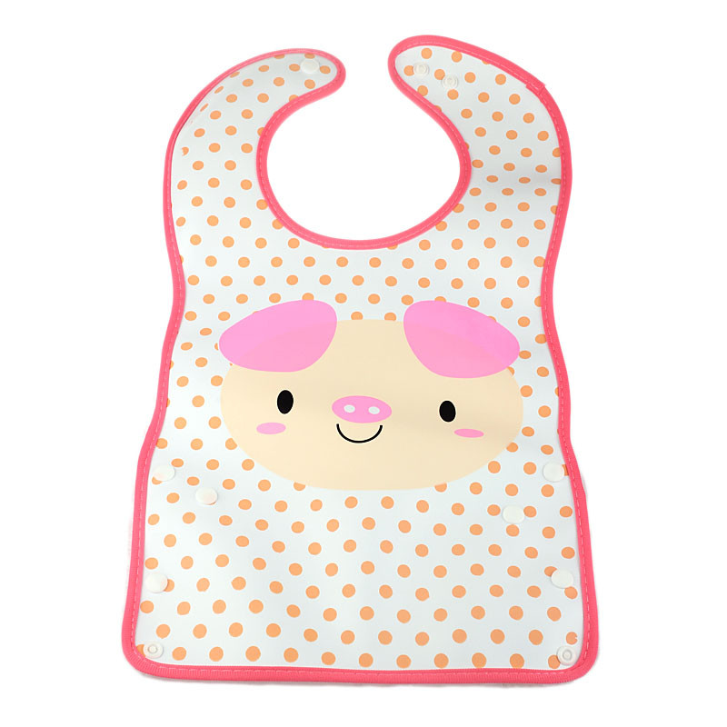 Fashion Baby Infants Kids Bibs Baby Lunch Bibs Cute Towel PVC Waterproof OCT2