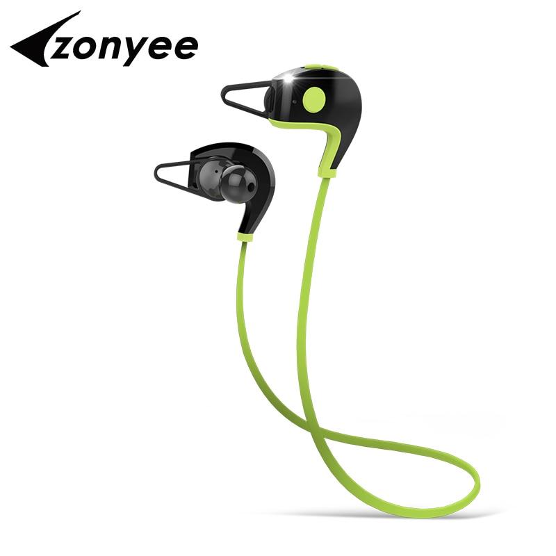 Zonyee A11 Sports font b Bluetooth b font Headset CSR4 1 Wireless Waterproof Headphones In ear