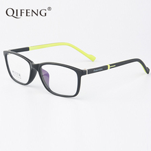 QIFENG Spectacle Frame Men Women Eyeglasses Computer Optical Boy Girl Student Myopia Glasses For Male Clear Lens QF201