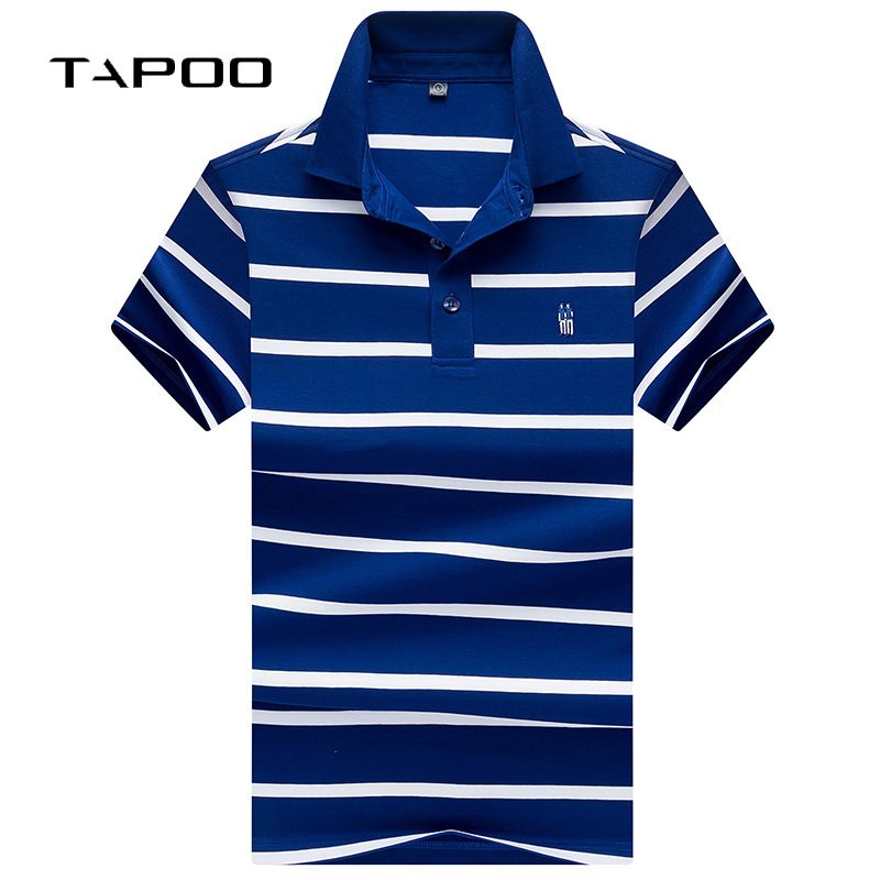 2018 Neue Sommer Herren Polo Shirt Männer Kurzarm Baumwolle Elastische Weiche Kontrast Farbe Atmungs Mode Shirts Zahlreich In Vielfalt