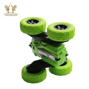 Image 5 - RC Car Rock Crawler Roll Car 2.4G 4CH Stunt Drift Deformation Buggy Car 360 Degree Flip Kids Robot RC Car Toys