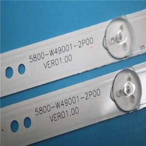 Image 3 - Led backlight for 49E3000 49E6000 49E360E/5ERS 5800 W49001 1P00 5800 W49001 0P00 5850 W50007 1P00 5800 W49001 DP00 480MM