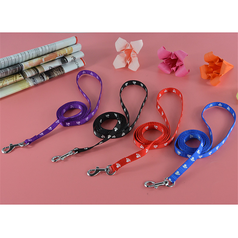 40 Pieces Lot Hot Sale Ebay Nylon Printing Breakaway Collar and Leashes Set for Pet