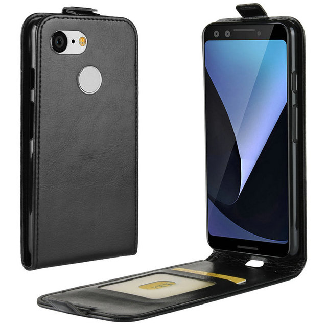 brand new 93f9d f0e8f US $3.4 30% OFF for Google Pixel 3 WIERSS Flip Leather Case for Google  Pixel 3 XL Pixel3 XL XL3 Retro Wallet Case Leather Cover Cases Fundas>-in  Flip ...