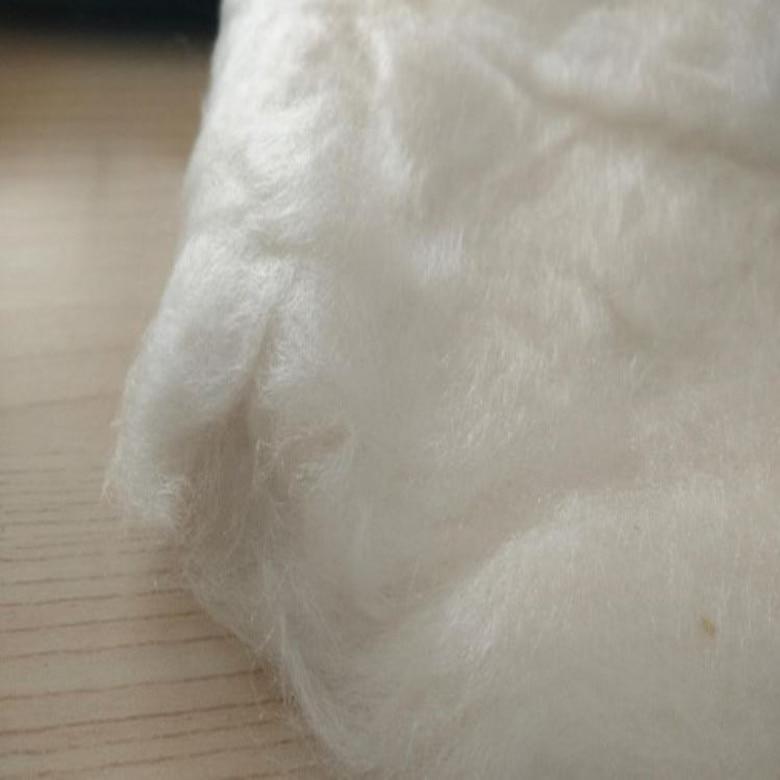 Agrafe courte 100% matériel de soie de mûrier matériel sain écologique de fibre pour le remplissage d'oreiller 1 kg en vente-in Fibre from Maison & Animalerie    1