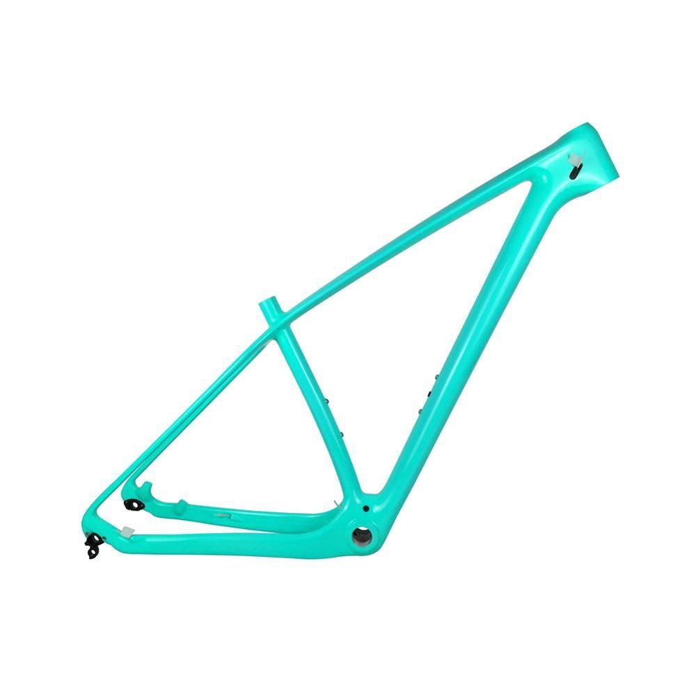 Excellent Spcycle 27.5er 29er T1000 Carbon MTB Bicycle Frame 650B Mountain Bike Carbon Frame BSA 73mm Compatible With 142*12mm or 135*9mm 1