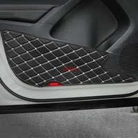 Door Anti Kick Mat Pad Sticker car covers Fit For Volkswagen Tiguan 2017 2018