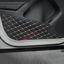 Двери анти-Kick коврик Стикеры автомобиля-охватывает подходят для Volkswagen Tiguan 2017 2018