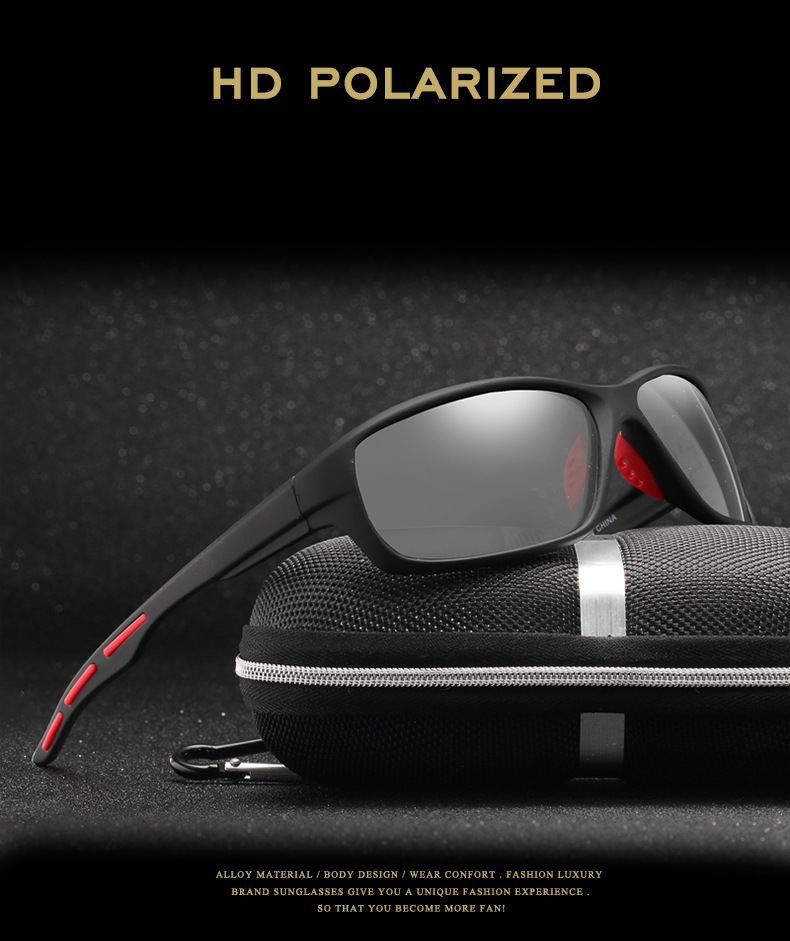AIELBRO Photochromic Cycling Sunglasses Men Polarized Driving Fishing Chameleon Cycling Glasses Change Color Cycling Eyewear