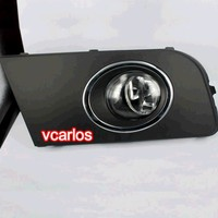 eOsuns halogen fog lamp for VW volkswagen AMAROK 2011~ON, top quality OEM design with harness, wiring kit and switch