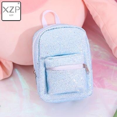 XZP мини кошелек на запястье для монет, рюкзак для женщин, блестящий маленький рюкзак с блестками, кошелек, дизайнерский рюкзак для девочек, милый Рюкзак Kawaii - Цвет: Style 1