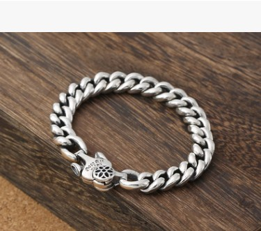 Bracelets hommes 2018 bracelet hommes argent 925 grand bracelet