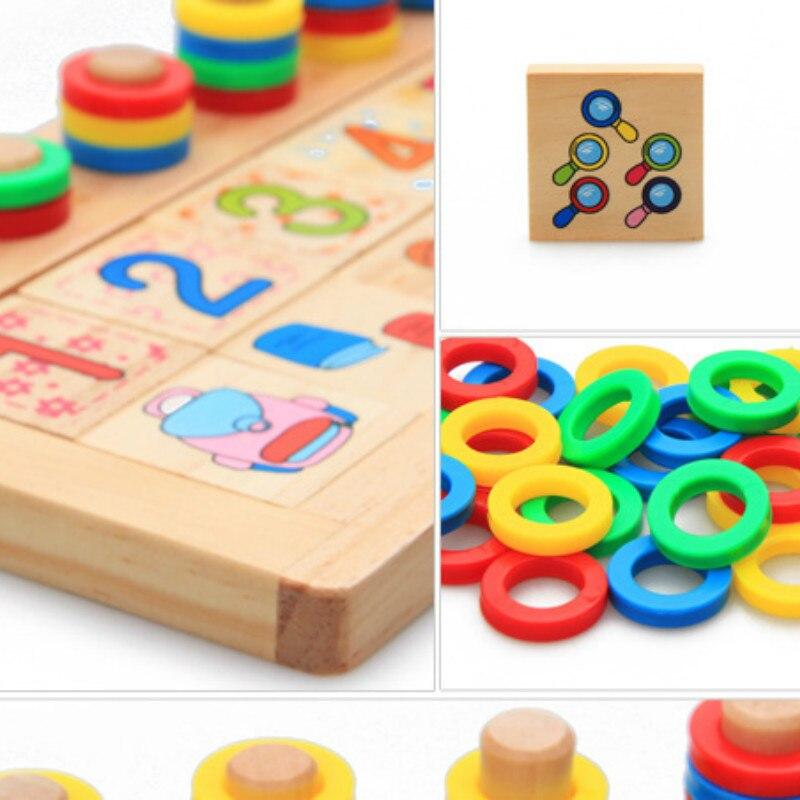 Djeca Drveni Montessori Materijali Učenje Brojeva Brojeva koji - Obrazovanje i osposobljavanje - Foto 4