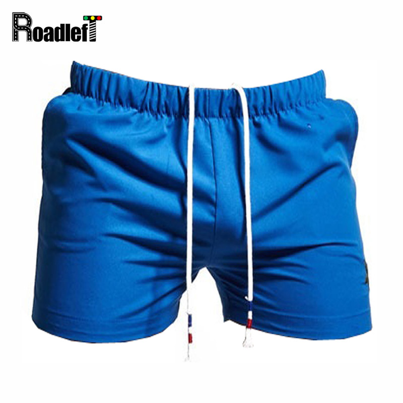 High Quality Men Dark Blue Casual Sweat Shorts Mens Summer Solid Color Cool Beach Shorts Mens