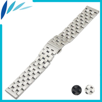 Stainless Steel Watch Band 20mm 22mm For MK Watchband Butterfly Clasp Strap Wrist Quick Release Loop