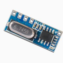 1PCS 4.5-5.5V LR45B 315/433MHz ASK Superheterodyne Wireless Receiver Module 433mhz module