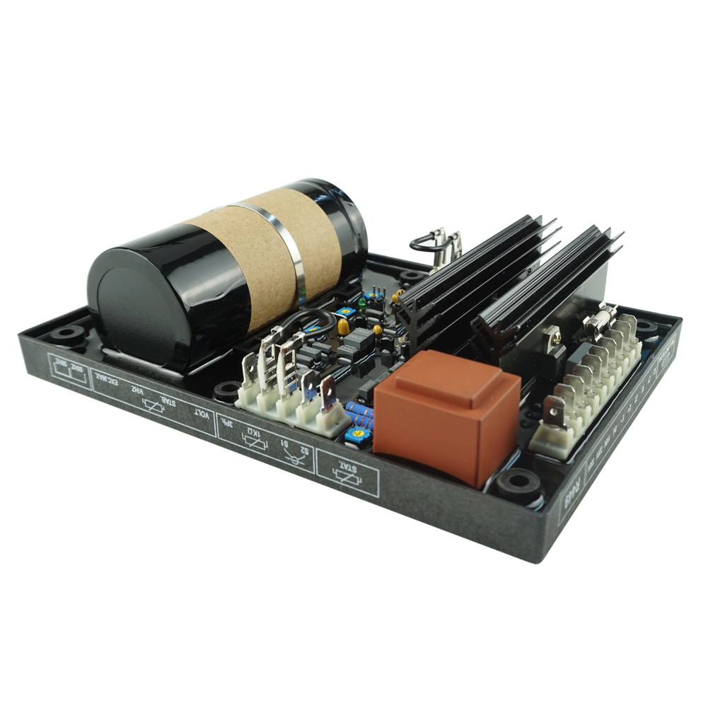 1pc Automatic Generator Voltage Regulator Dynamo Voltage Stabilizer R449 CLH@8