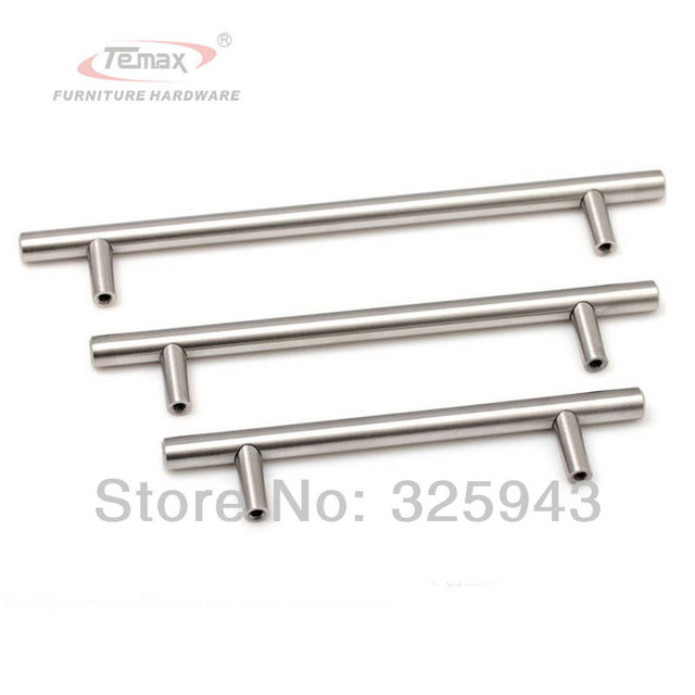 128mm Furniture Hardware Cabinet Knobs And Handles Dresser Knobs Solid Stainless Steel Brushed Nickel