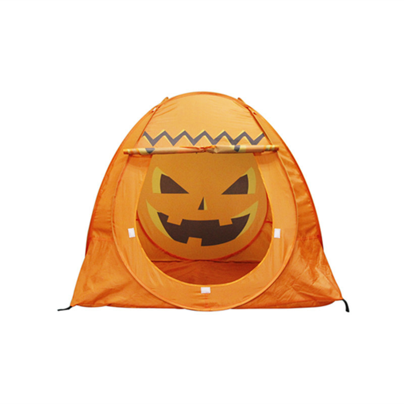 New Style Halloween Pumpkin Tent Safe Indoor/Outdoor Baby Kids Play Game Tent Hot Ball Pit Pool Child Tent With Balls