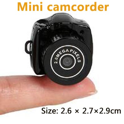 MINIDVY200 Micro camera sd mini video camera mini dvr camera cctv mini dvr camcorder mini Micro video camera integrated machine micro camera compact telephoto camera bag black olive