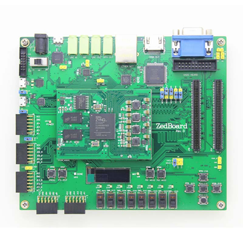 ZYNQ7000 XILINX FPGA Bordo di Sviluppo Compatibile per ZedBoard