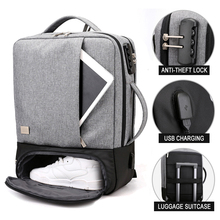 Anti Theft Backpack Laptop Bag Men Women 15.6 Inch Notebook Business Backpacks Bags Male Men's USB Charge Travel Large Bagpack brand external usb charge laptop backpack anti theft notebook computer shoulder travel bags 15 6 inch for business men women