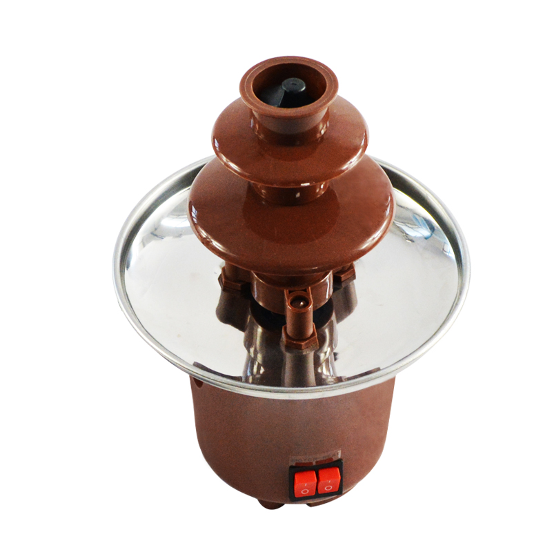 Household Chocolate Fountain Machine CE CB approval Chocolate Melter Triple Chocolate Foudue Maker недорого