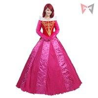 Mmgg фильм Спящая Красавица Принцесса Аврора платье косплэй костюм одежда индивидуальный заказ Высокое качество