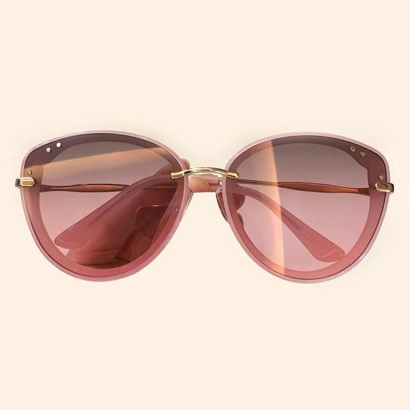 Vintage Cat Eye Sunglasses Women 2019 Fashion Alloy Frame Eyewear Oculos De Sol Feminino Gradient Lens UV400 Shades with Packing