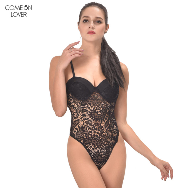 Hot Push-up Cup Lace Body Sexy Bodysuit