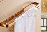 Rose Gold Wall mounted Towel Rails Single Towel Bars Towel Racks Towel Holder Bathroom Accessories Bba867