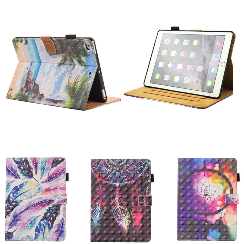 For Apple iPad Mini 4 3 2 1 7.9 Case Flip Stand PU Leather PU Tablet Cover Beautiful Fashion Girl Luxury For Mini4 Mini3 Mini2