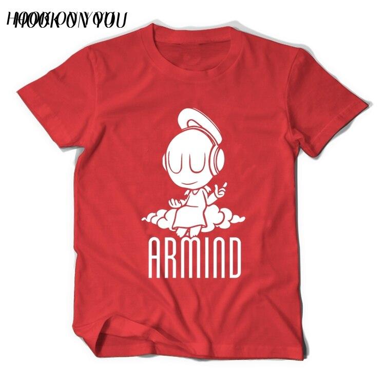 2017 Musikstjärnor DJ Armin Van Buuren T-shirt liten ängel Armind 2 - Herrkläder - Foto 4