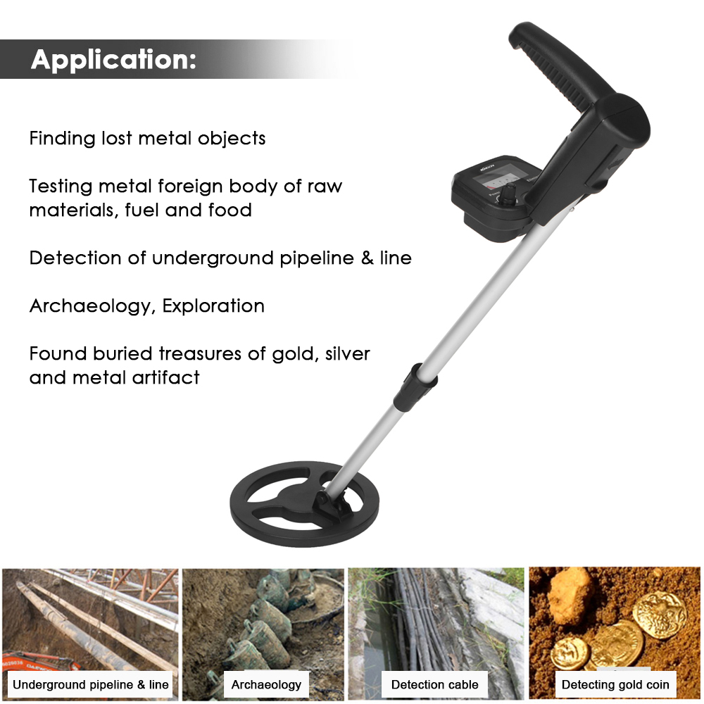 Children Handheld Underground Metal Detector Gold Digger Treasure Hunter Tracker Seeker For Kids Toy