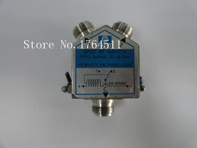 [BELLA]  Agilent 8761B DC-18GHZ 24-30VDC RF Coaxial Switch N