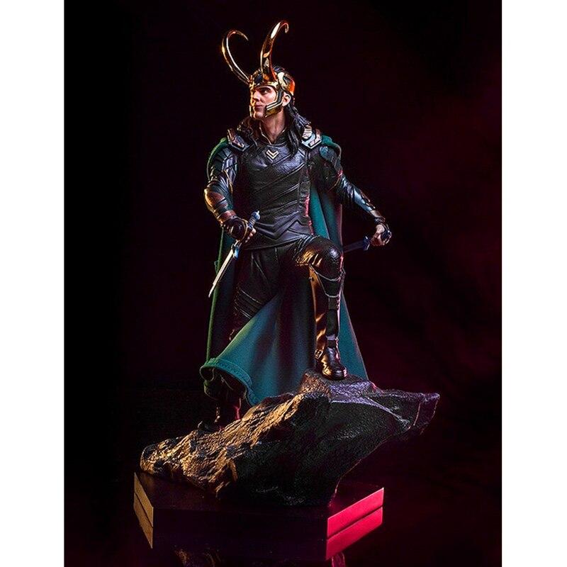 Les Avengers Thor: Ragnarok Megamind Loki Laufeyson scénario de Combat Ver PVC figurine à collectionner modèle coffre à jouets-emballé 25 cm