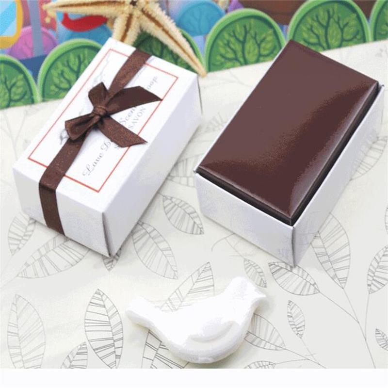 2016 New Love Bird Soap Bridal Shower Favor Love Dove Soap Gifts