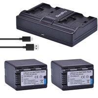 2PC VW VBK360 VW VBK360 Camera Battery + USB Charger for Panasonic HDC HS80 SD40 SD60 SD80 SDX1 SDR H100 H85 H95 HS60 HS80 TM60