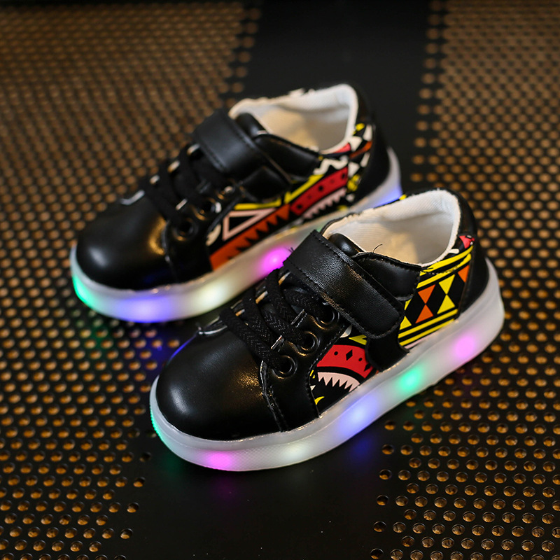 Smeiarar Luminous KIDS Children SHOES For Girls Boys Glowing Sneakers Kids Shoes Girls Led Light Lights Illuminated Chaussure